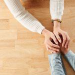 shutterstock supportive hands