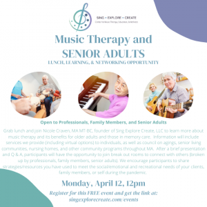 Music Therapy and Senior Adults Networking Event (1)